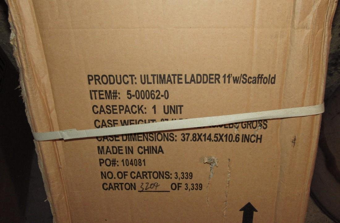 11' Ultimate Ladder w/ Scaffold - 2