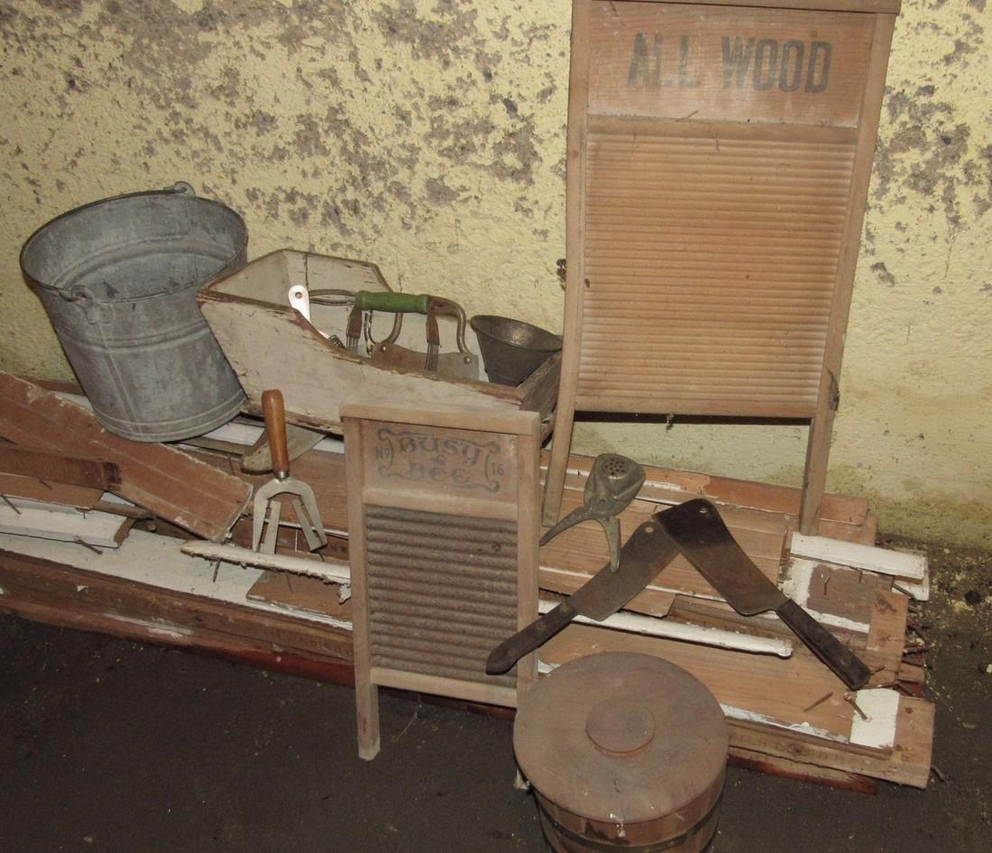 Washboards Cradle Kitchen Utensils Galvanized