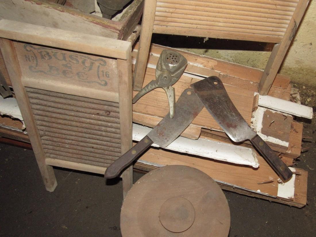 Washboards Cradle Kitchen Utensils Galvanized - 2