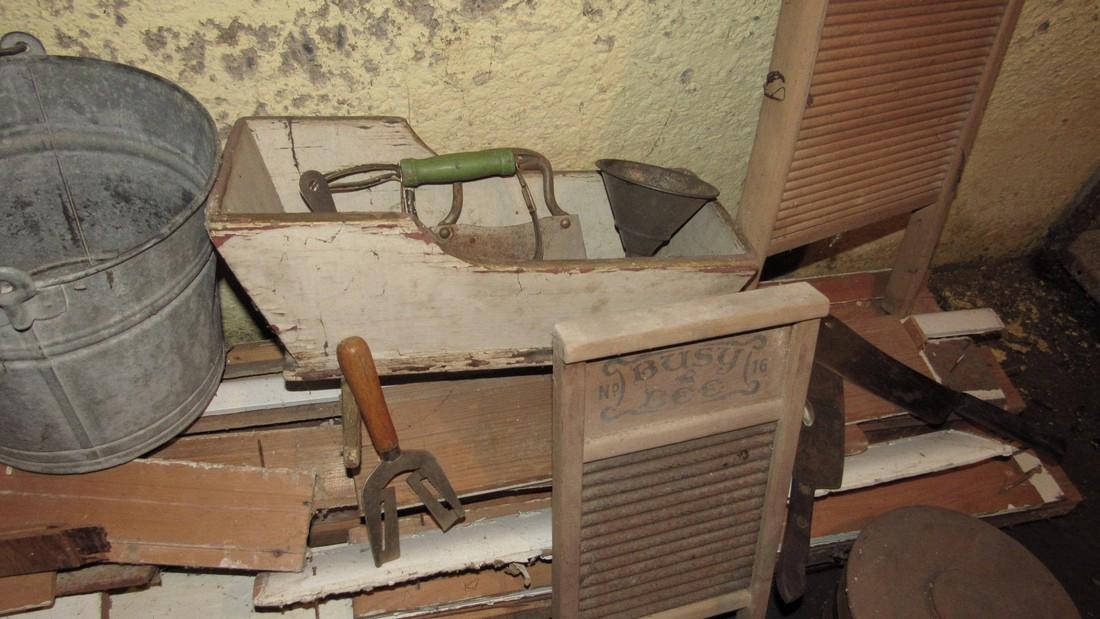 Washboards Cradle Kitchen Utensils Galvanized - 3