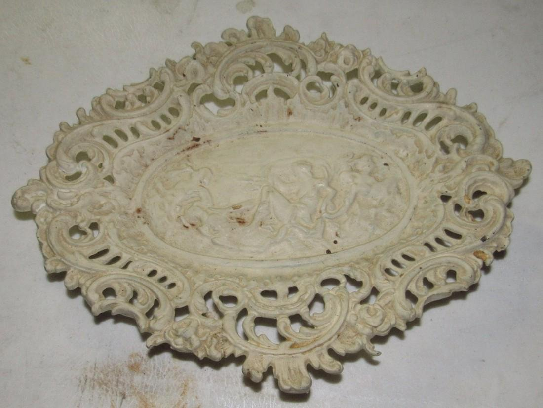 Cast Iron Footed Tray