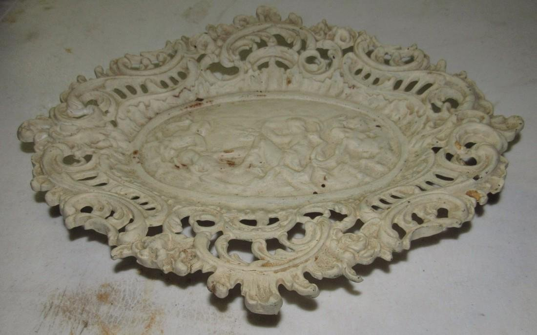 Cast Iron Footed Tray - 2