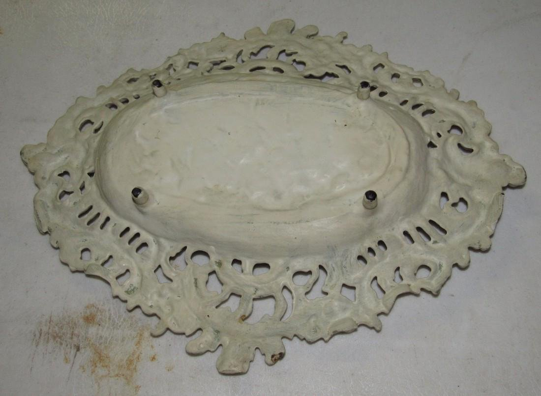 Cast Iron Footed Tray - 3