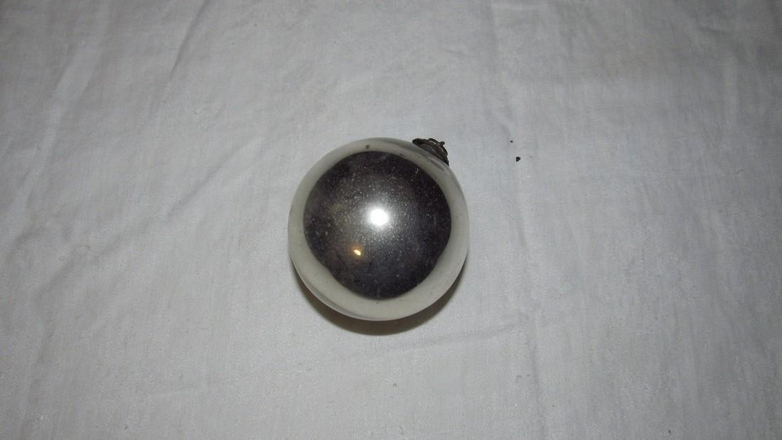Antique Kugel Christmas Ornament