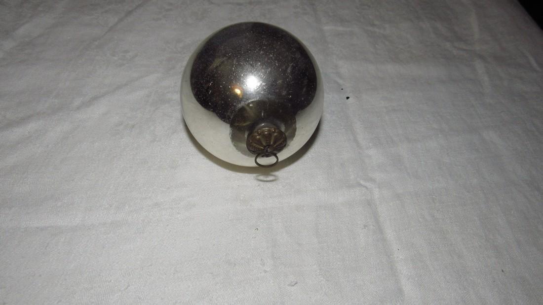Antique Kugel Christmas Ornament - 2