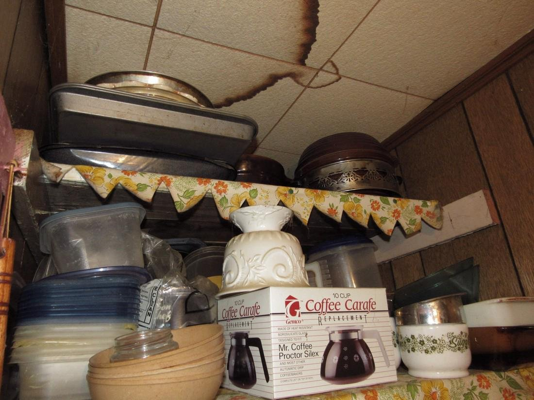 Contents of Kitchen Closet - 2