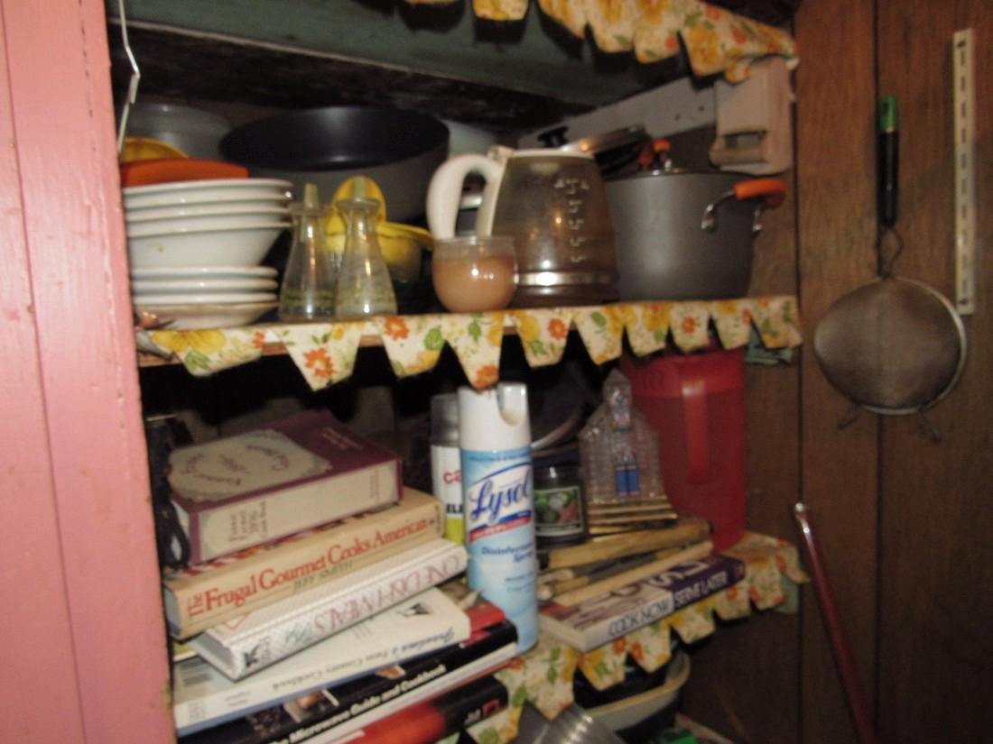 Contents of Kitchen Closet - 3