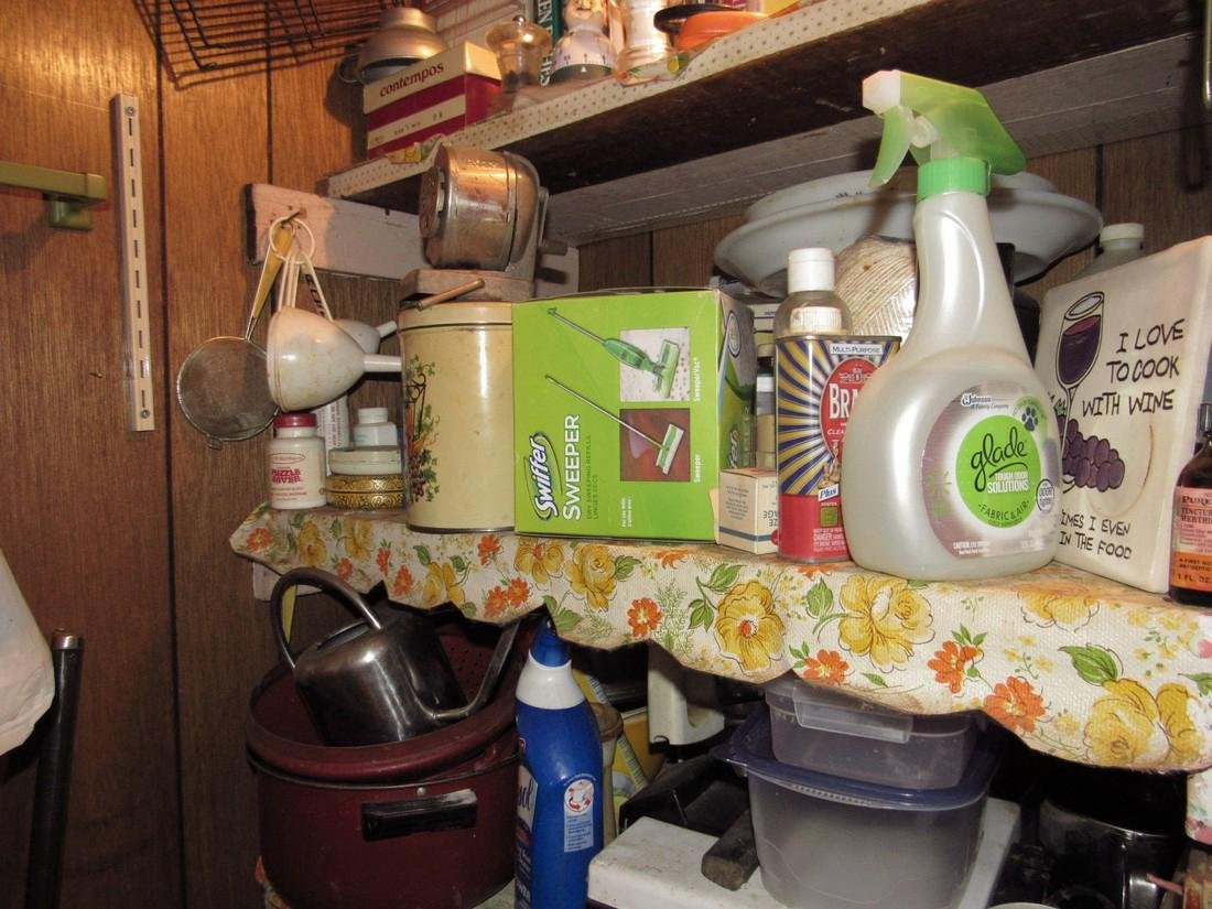 Contents of Kitchen Closet - 6