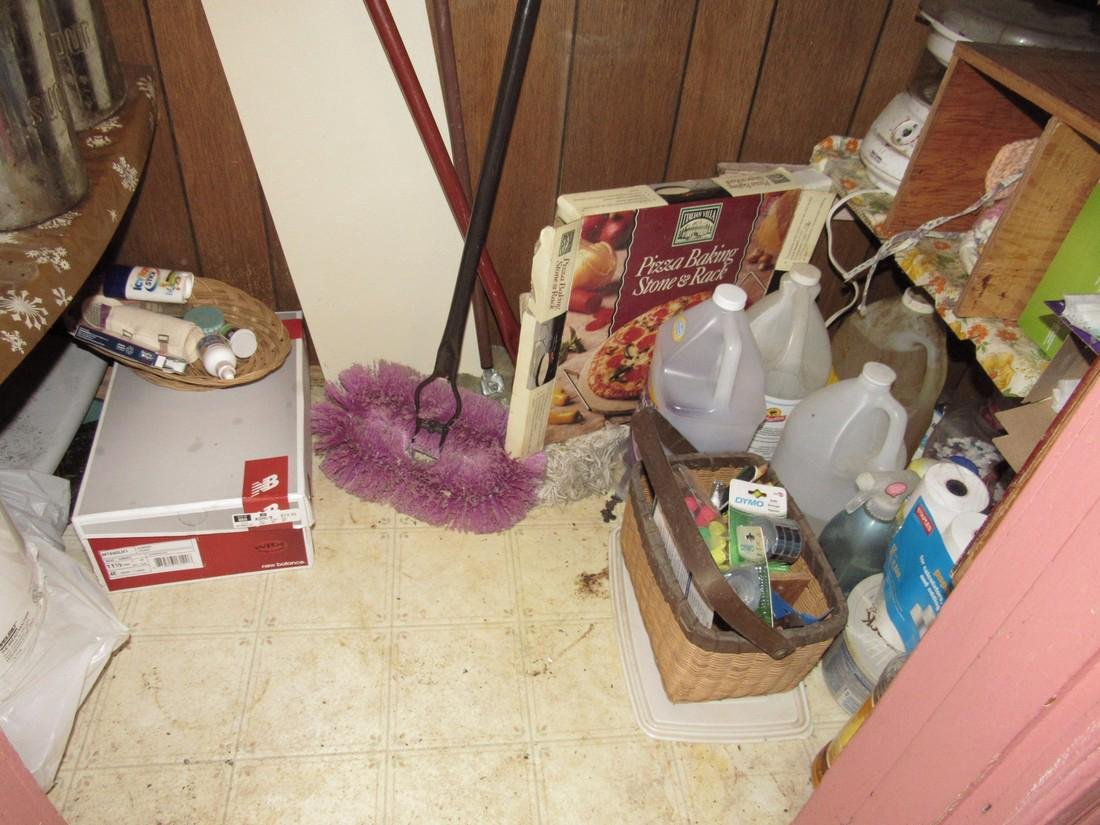 Contents of Kitchen Closet - 8