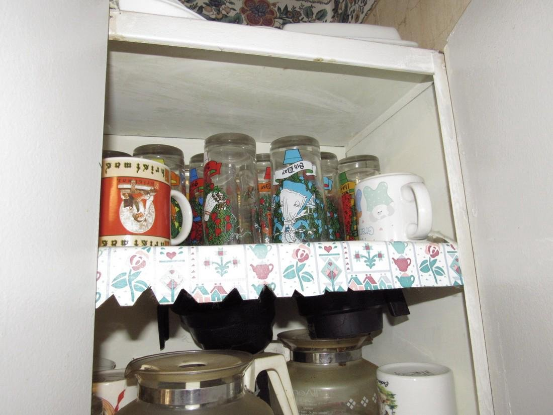Contents of Kitchen Cabinet - 2
