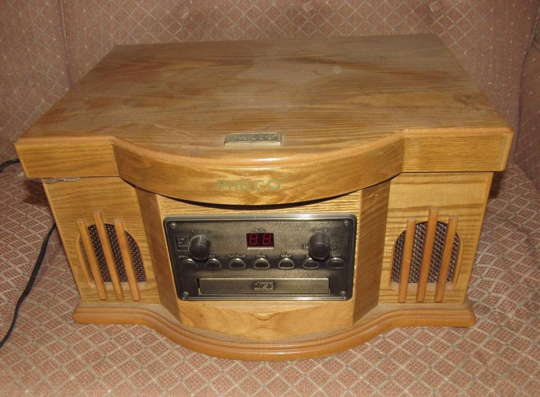 Philco CD Player & Turntable