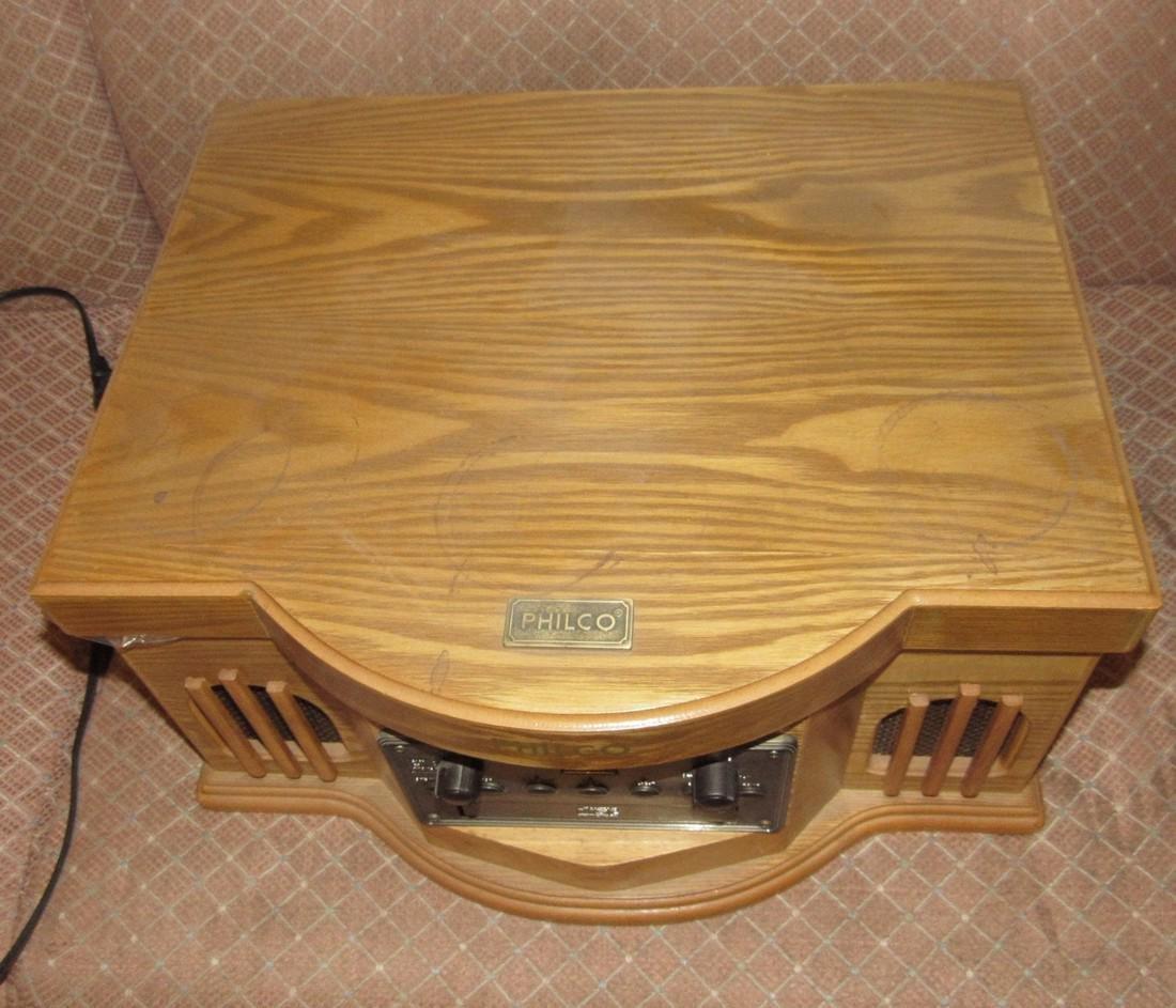 Philco CD Player & Turntable - 2