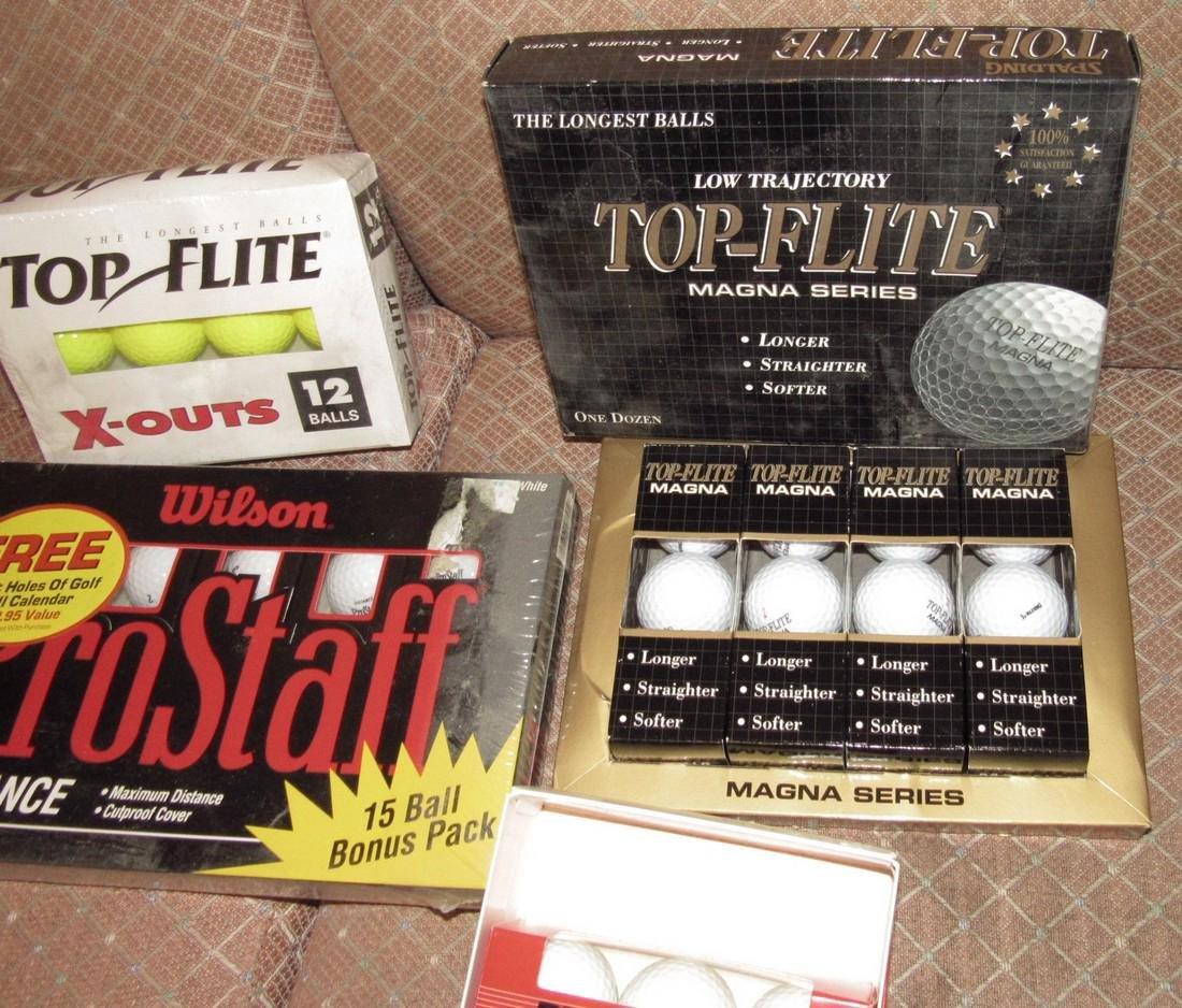 Pro Staff Top-Flite Dynapower Golf Balls - 4