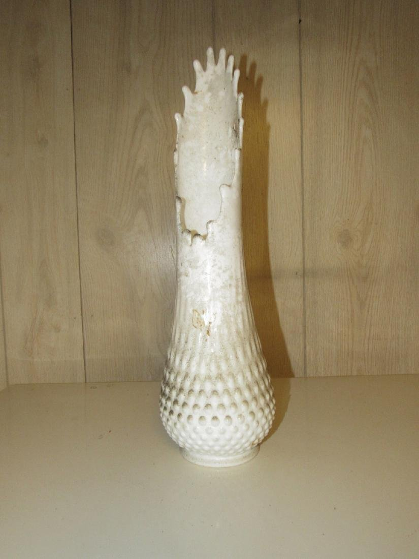Fenton Milk Glass Vase