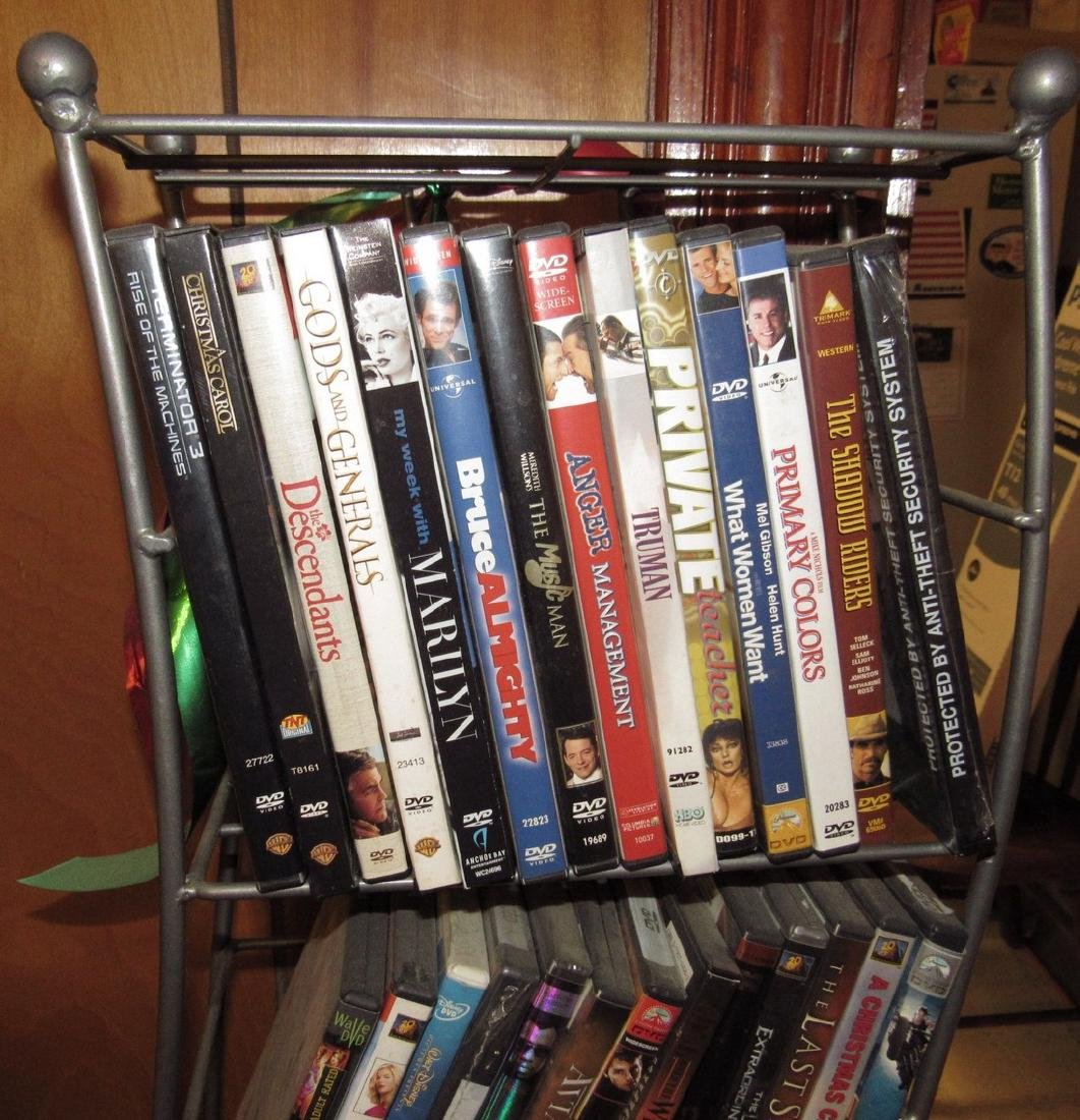 DVD's & VHS Tapes - 5