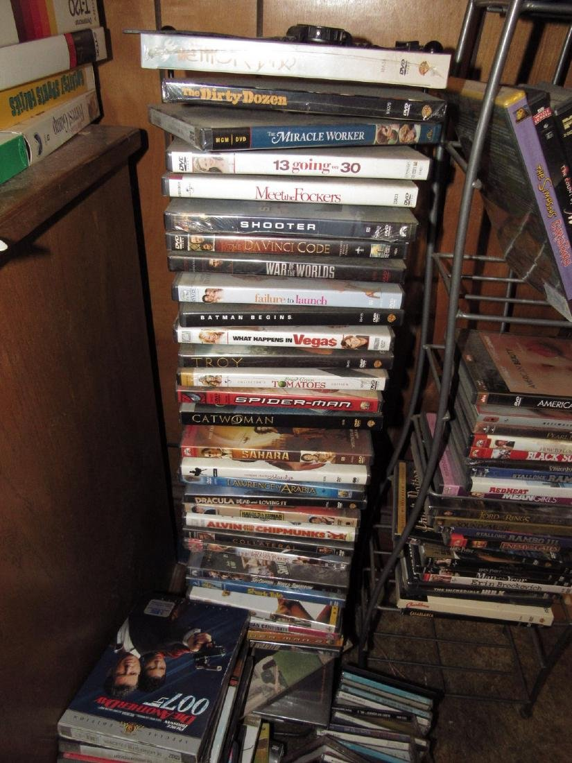 DVD's & VHS Tapes - 8