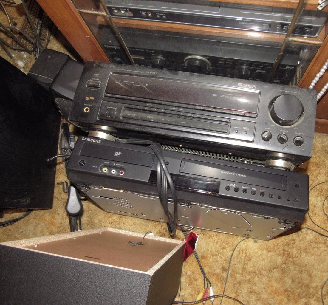 Cd Players Speakers Electronic Lot