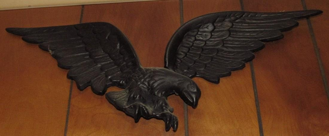 Cast Iron Eagle Wall Plaque