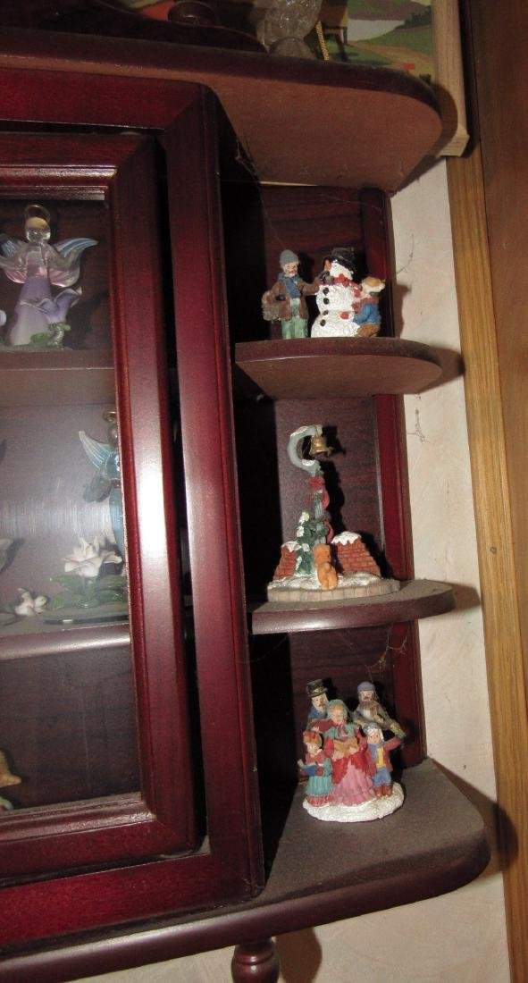 Knick Knack Shelf & Contents - 2