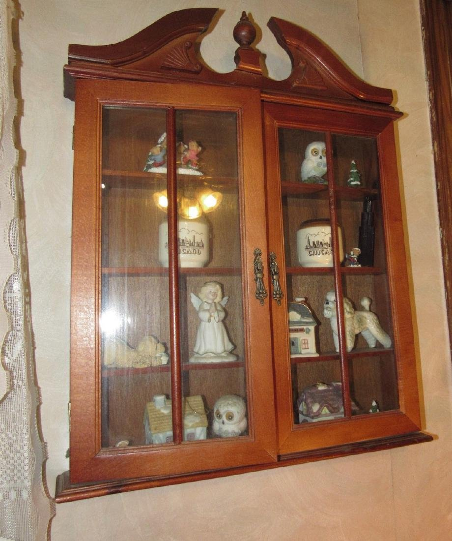 Knick Knack Shelf & Contents