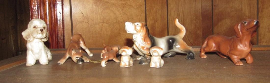 Brinn's & Napco Dog Figurines