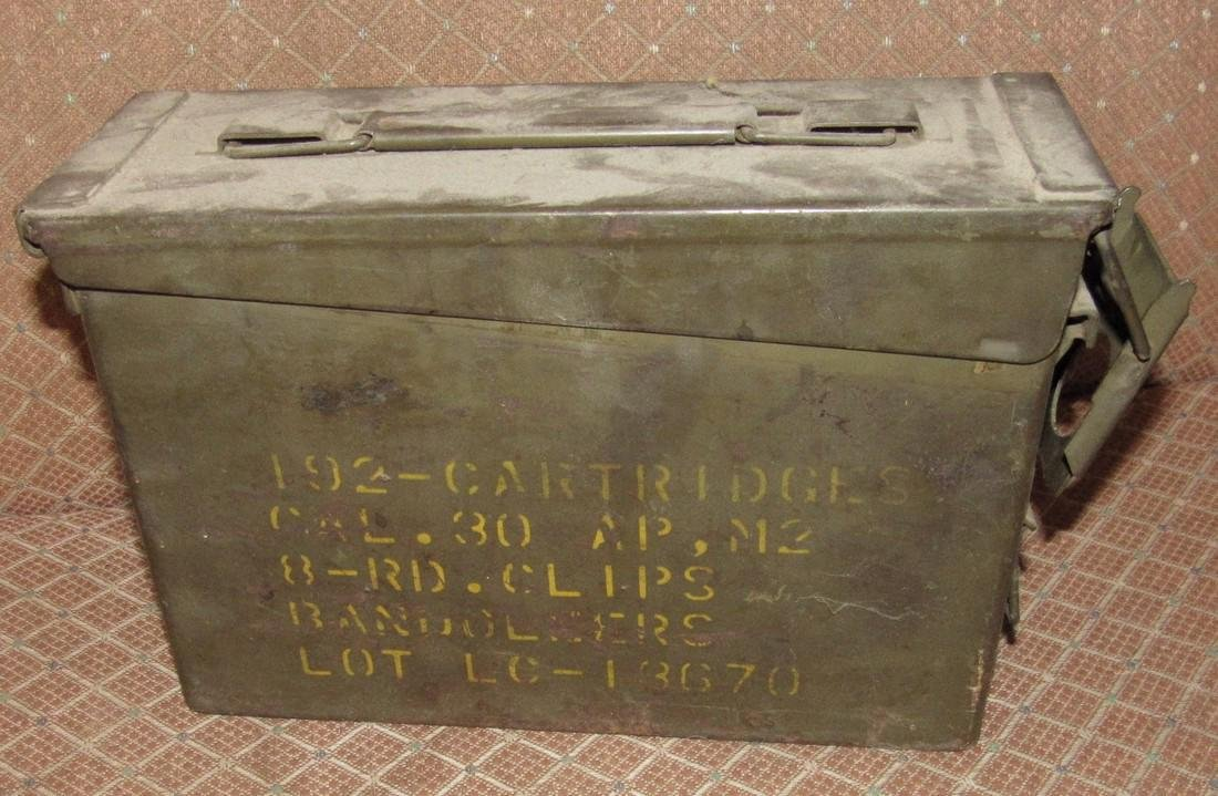 United Military Ammo Box