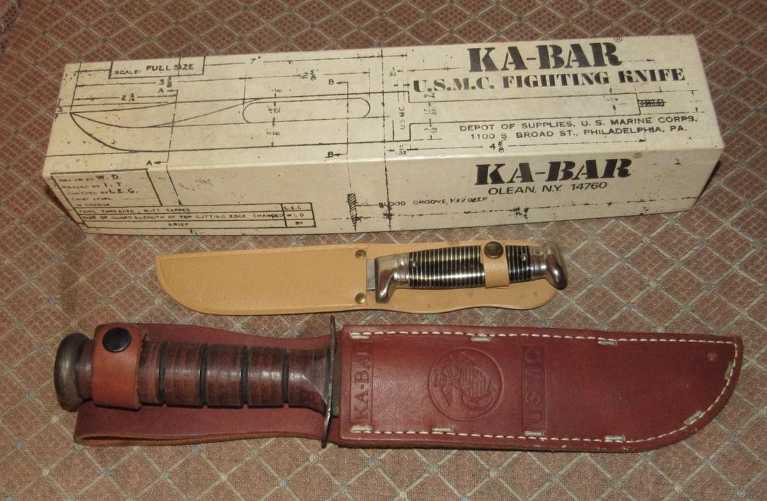 Ka-Bar US Military Fighting Knife & imperial