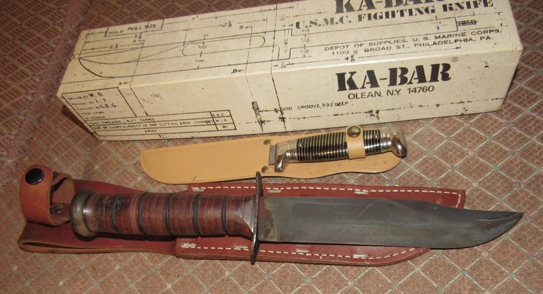 Ka-Bar US Military Fighting Knife & imperial - 2