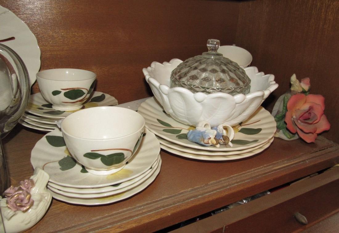 Crest O Gold Sabin Dishes China Lot - 5