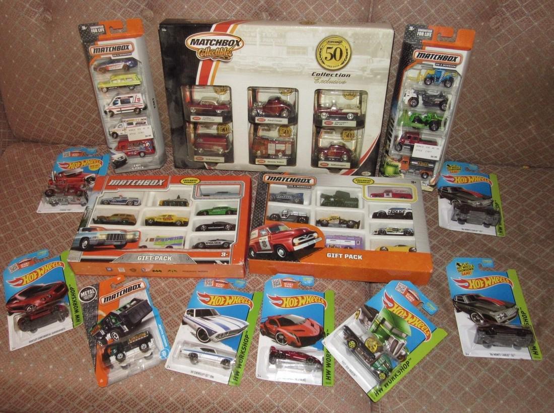 Matchbox & Hot Wheels Toy Cars