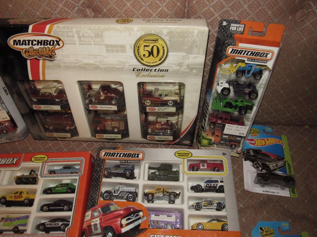 Matchbox & Hot Wheels Toy Cars - 2