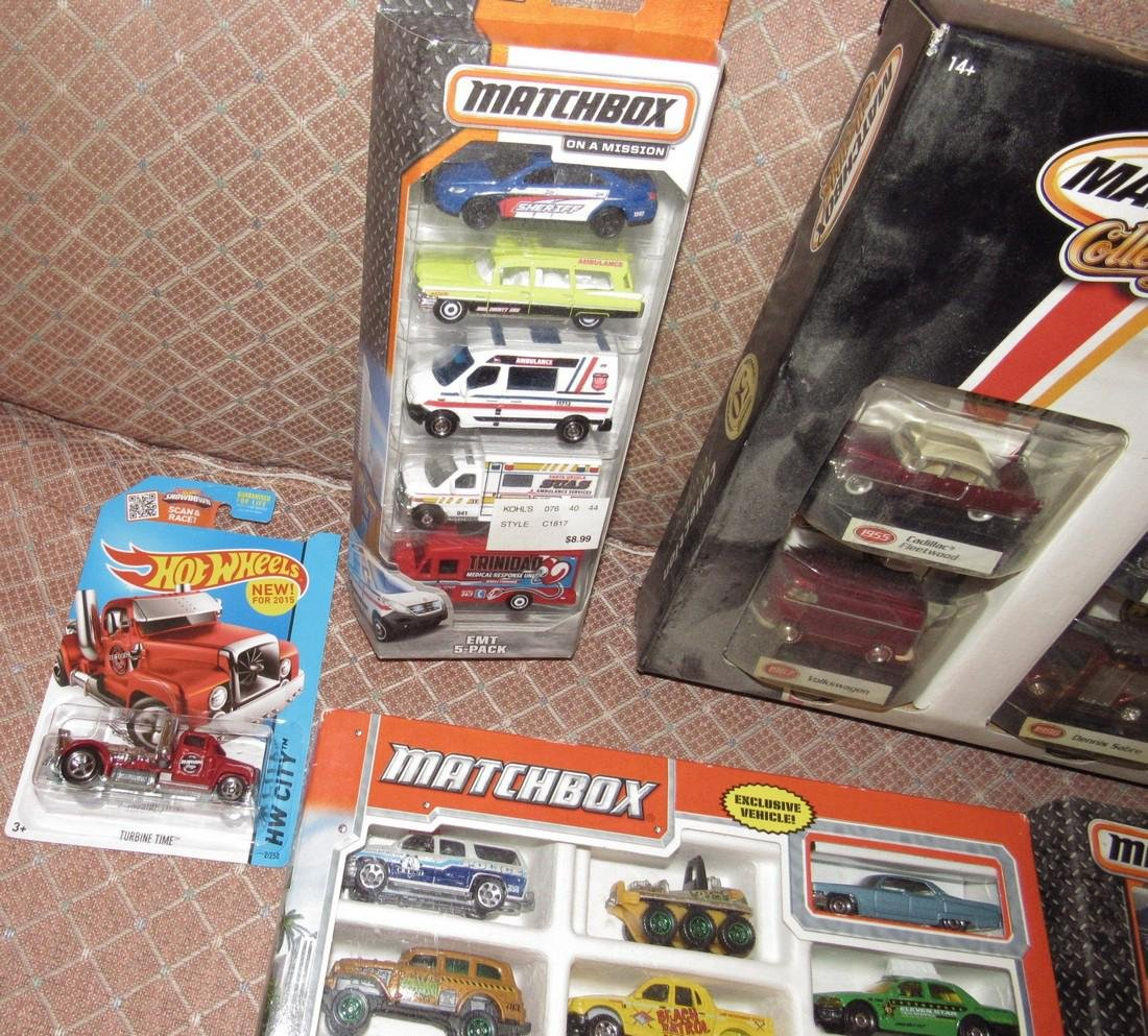 Matchbox & Hot Wheels Toy Cars - 3