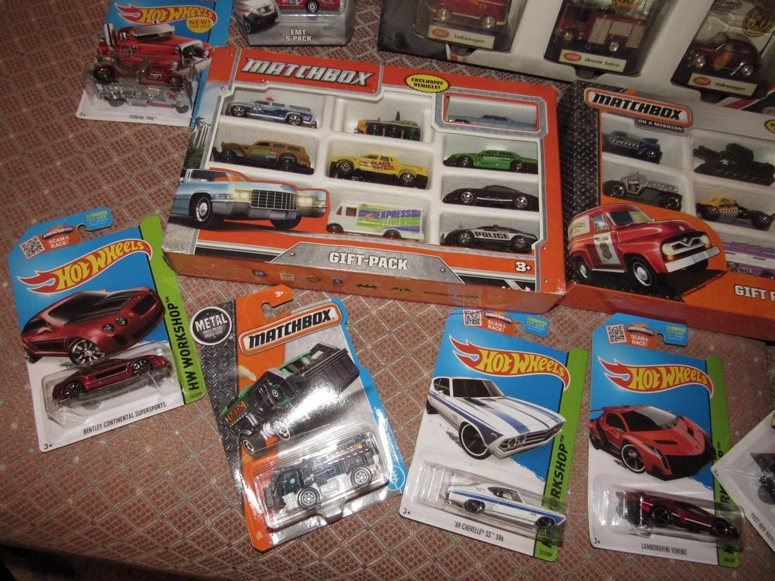 Matchbox & Hot Wheels Toy Cars - 4