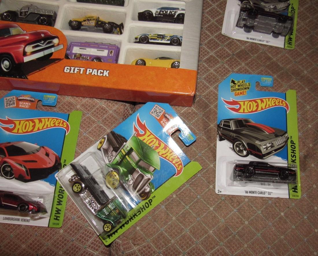 Matchbox & Hot Wheels Toy Cars - 6