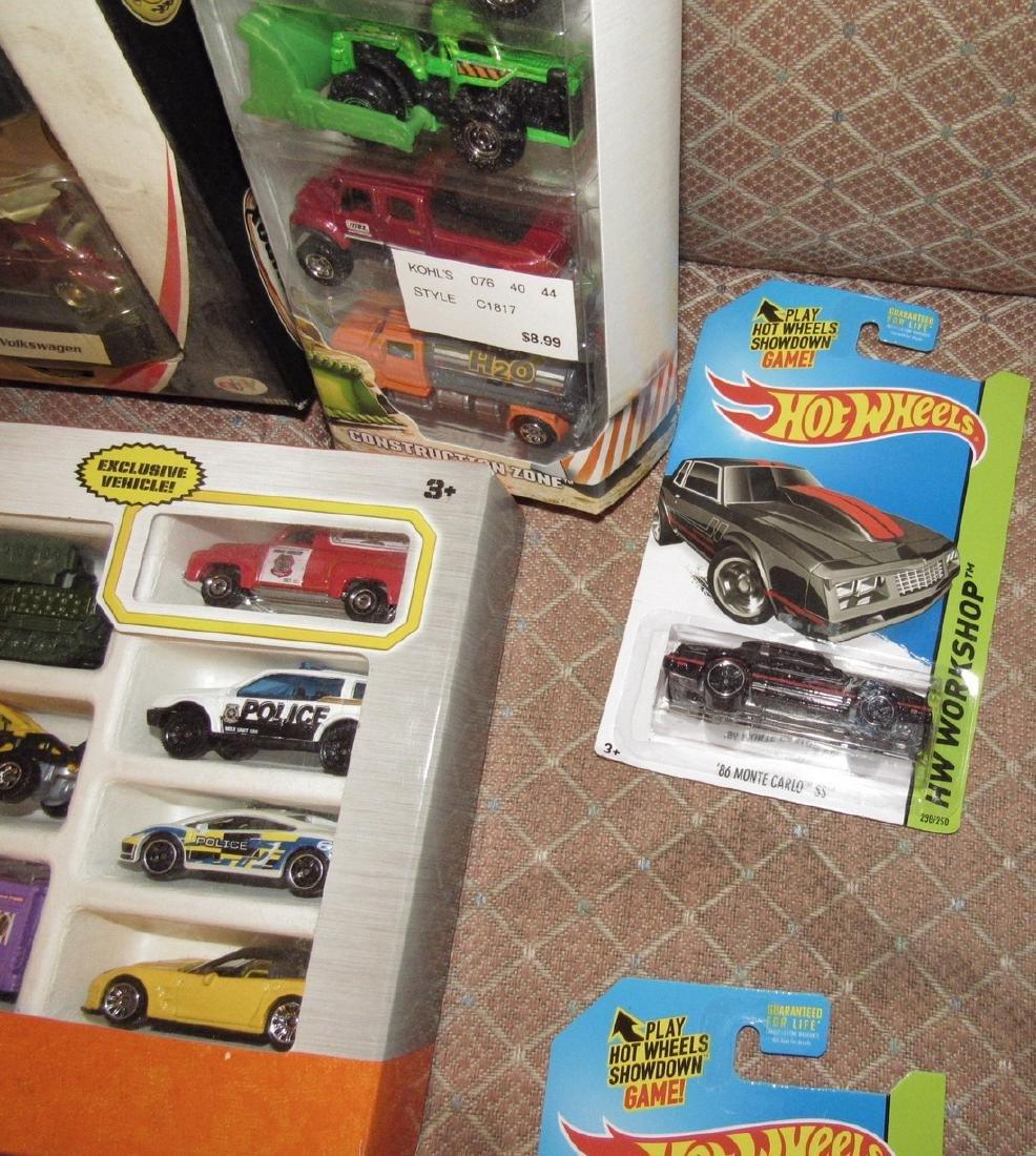 Matchbox & Hot Wheels Toy Cars - 7