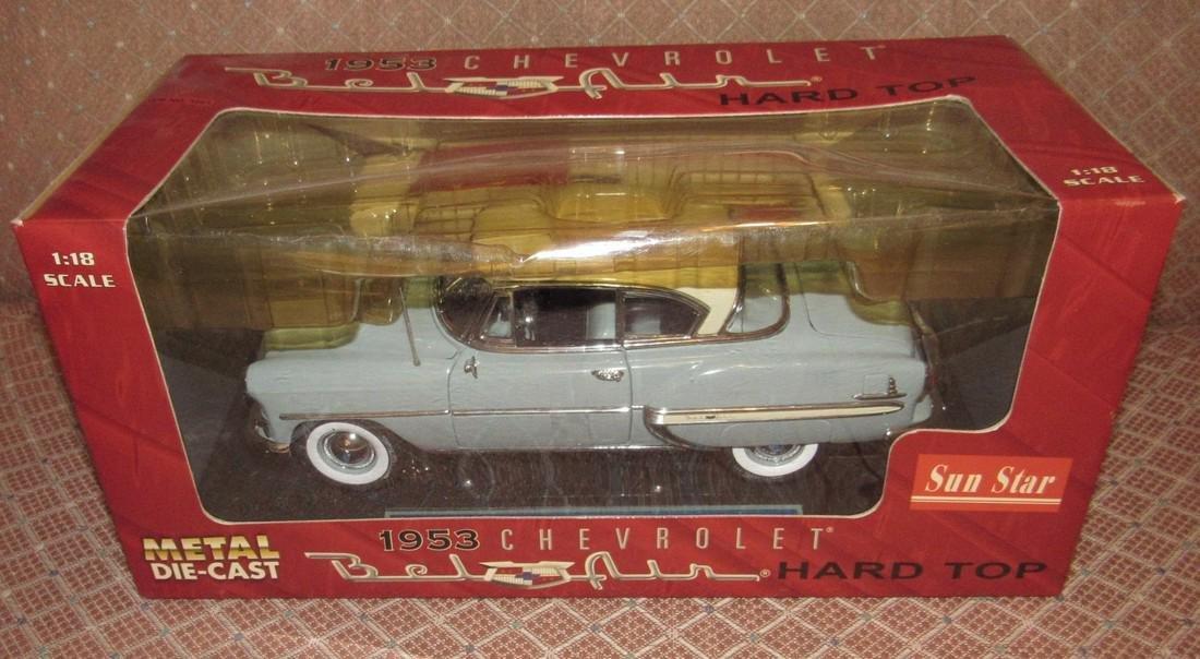 Sun Star 1953 Chevrolet Bel Air Die Cast Toy