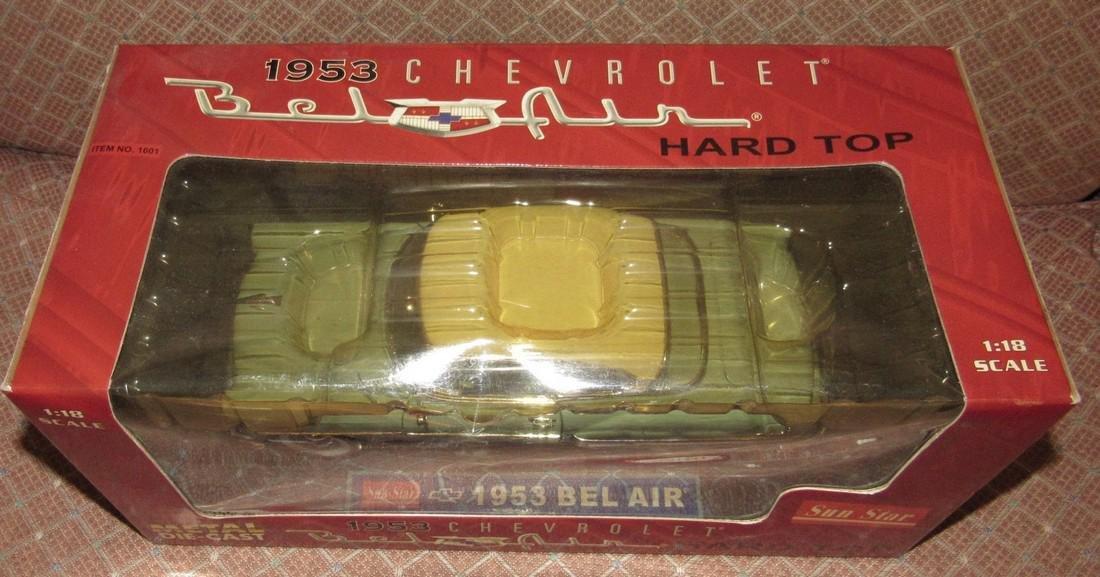 Sun Star 1953 Chevrolet Bel Air Die Cast Toy - 2