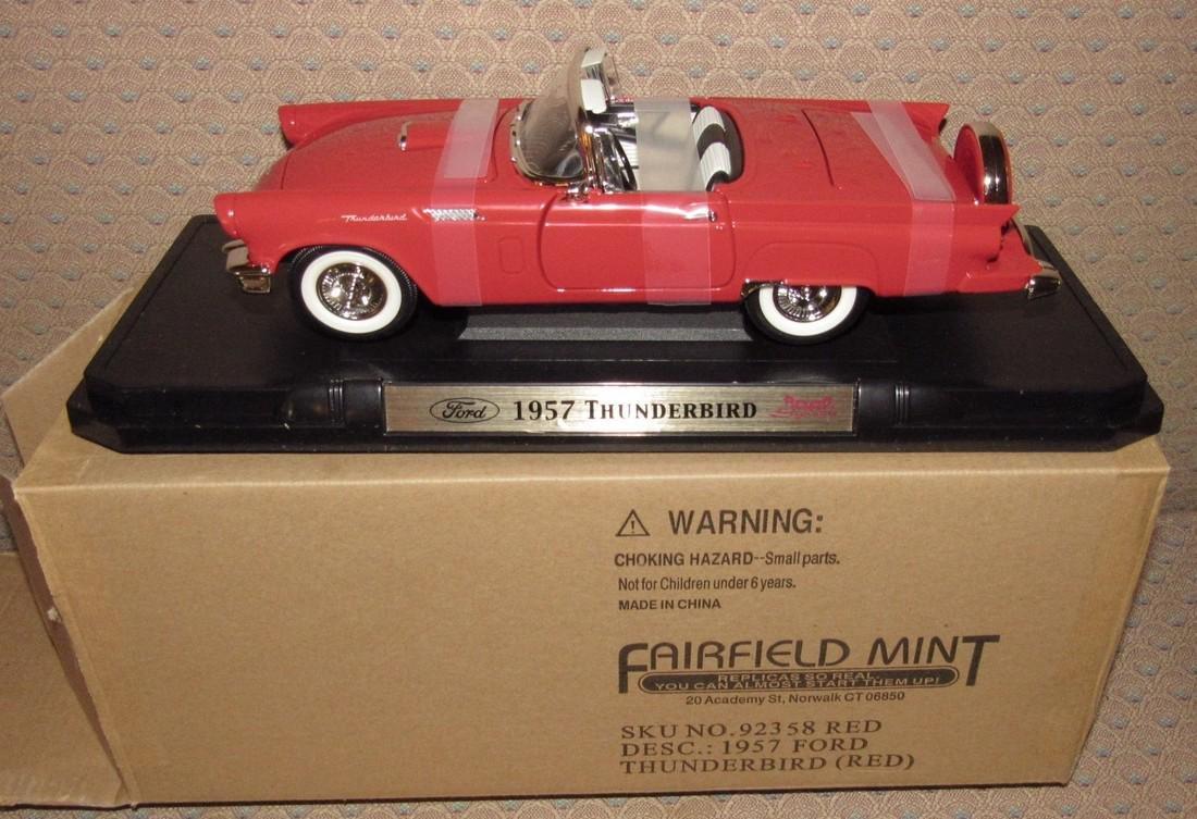 Fairfield Mint Ford Thunderbird Diecast Car