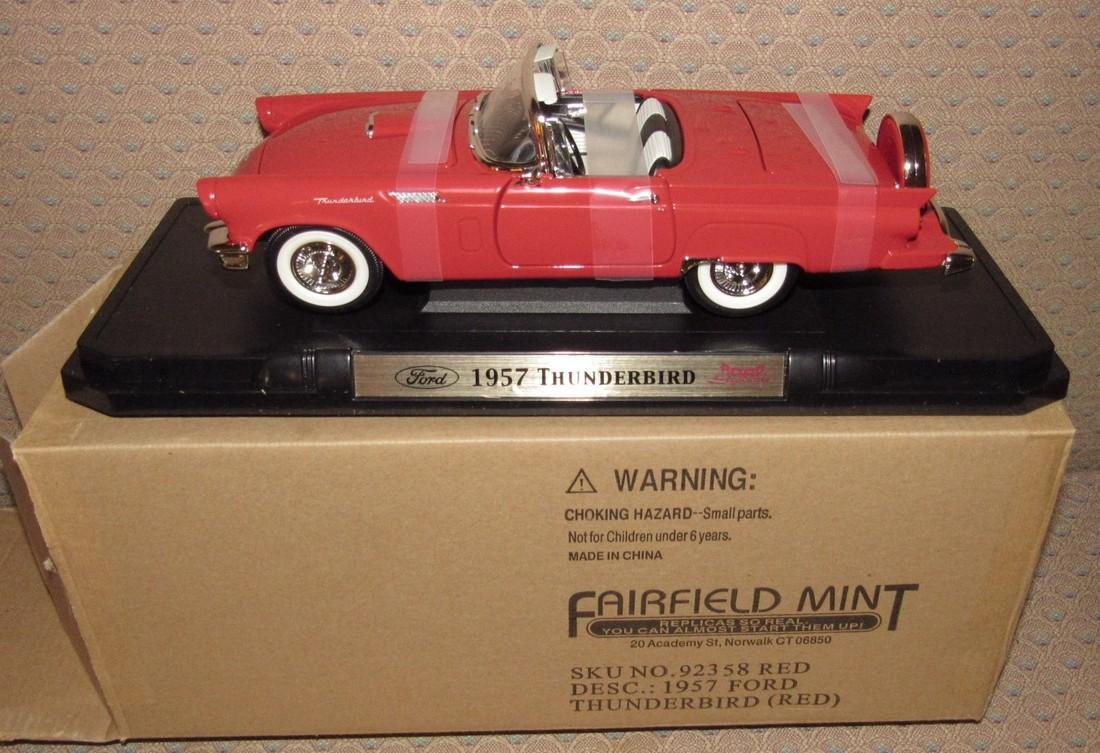 Fairfield Mint Ford Thunderbird Diecast Car