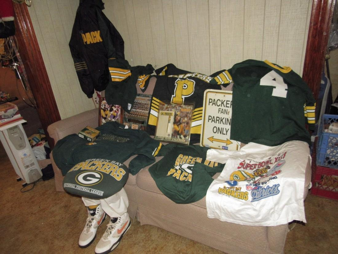 Green Bay Packers Football Jerseys Plaques Stool
