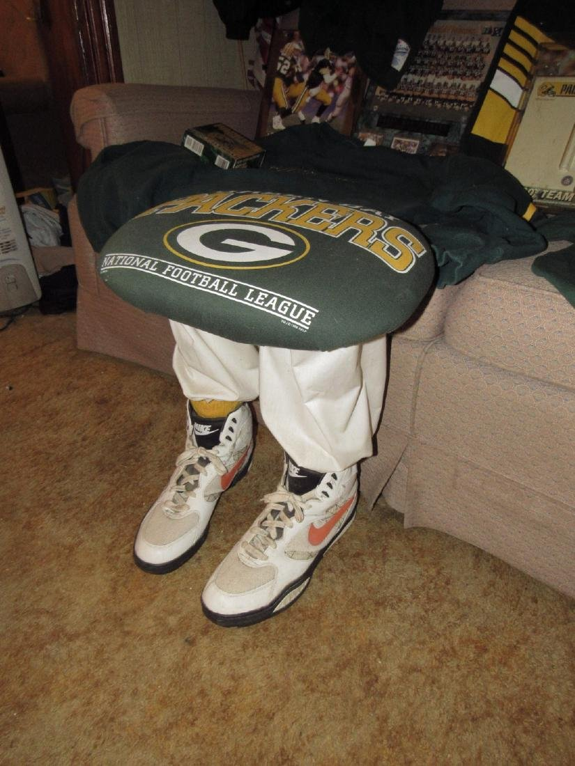 Green Bay Packers Football Jerseys Plaques Stool - 2