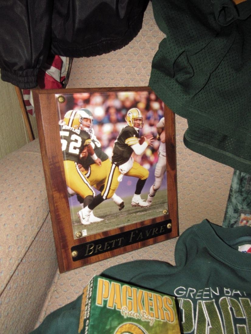 Green Bay Packers Football Jerseys Plaques Stool - 4