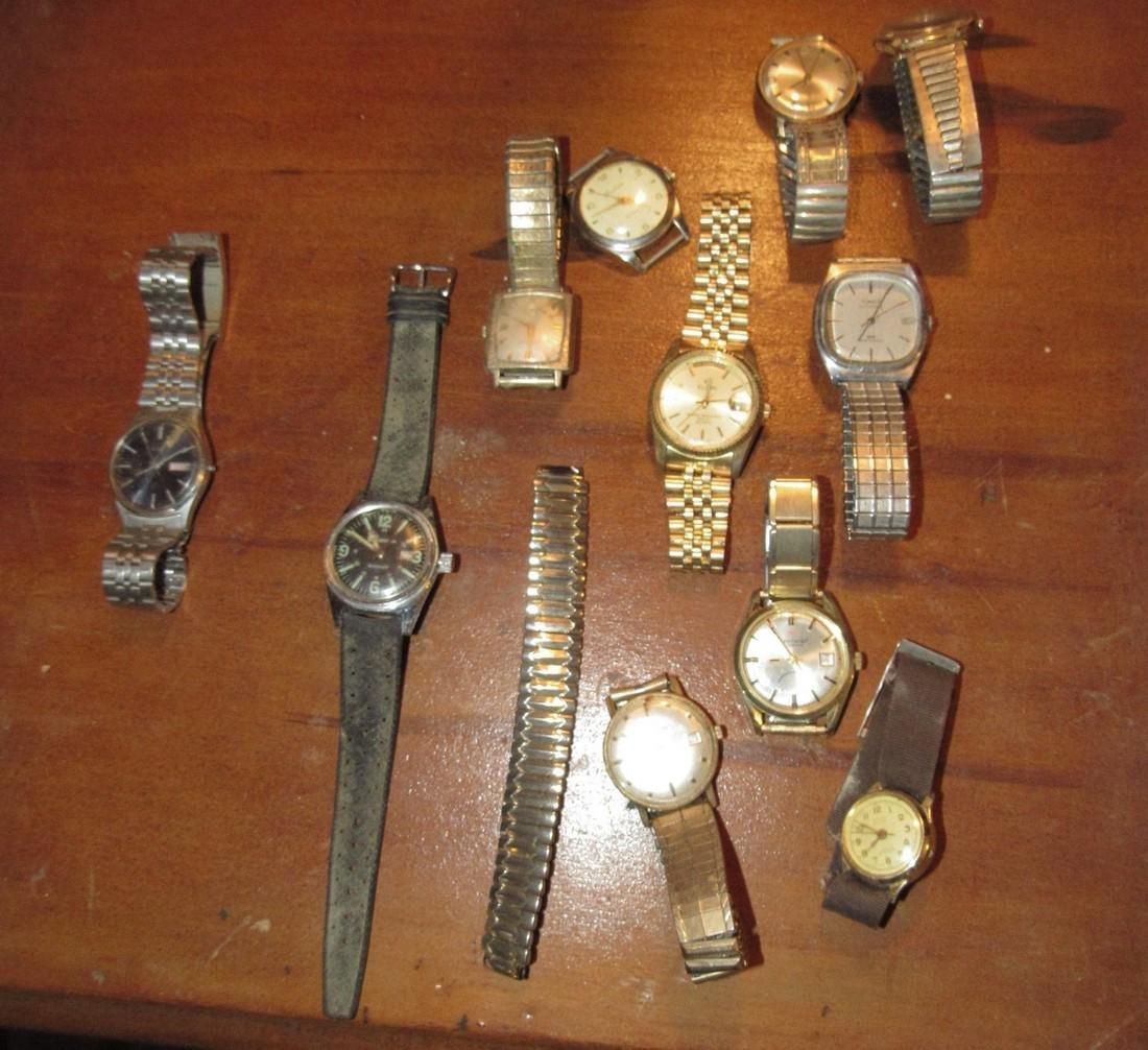 Timex Bulova Seiko Elgin Di Lido Jorgensen Watches