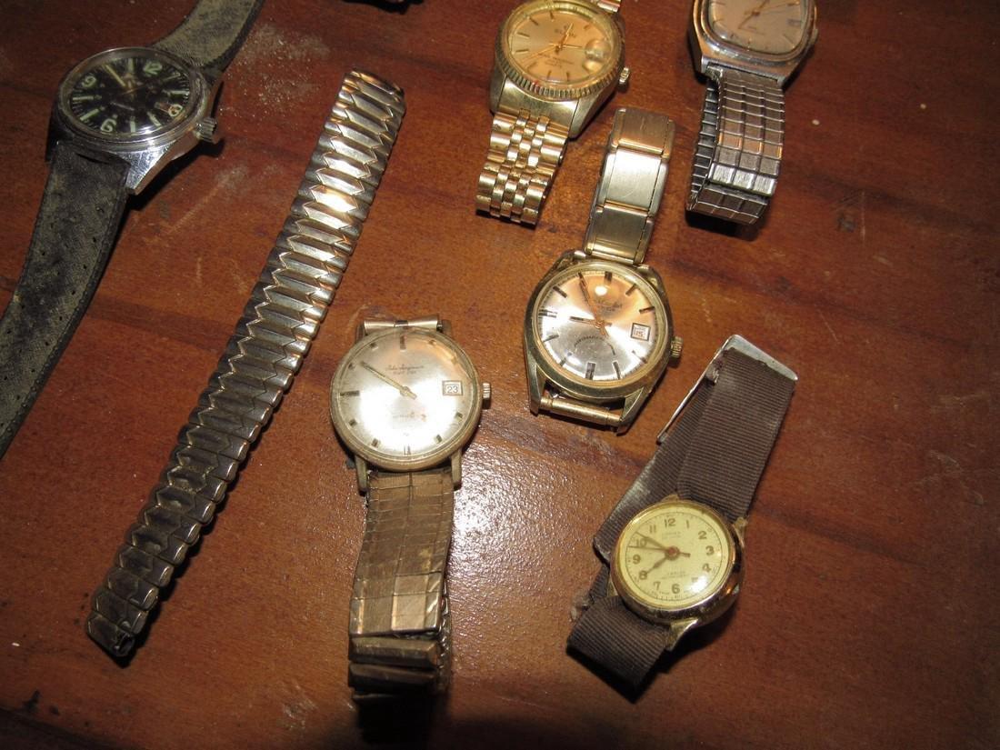Timex Bulova Seiko Elgin Di Lido Jorgensen Watches - 3