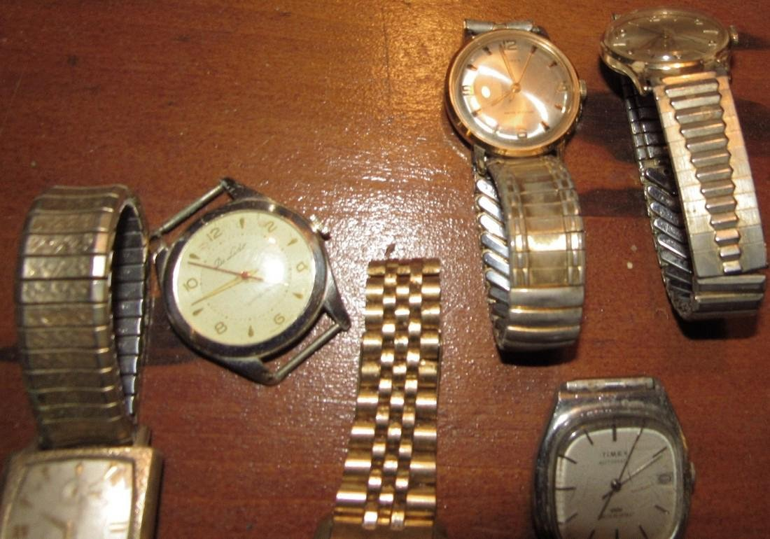 Timex Bulova Seiko Elgin Di Lido Jorgensen Watches - 5