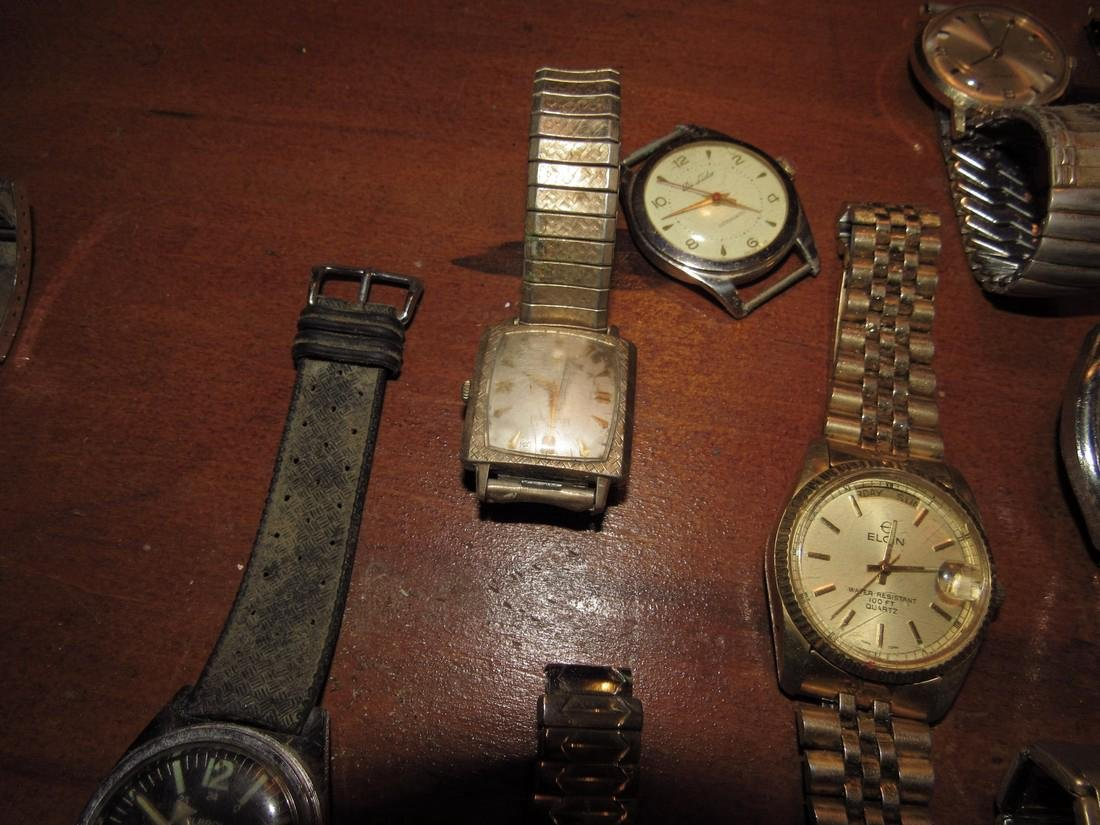 Timex Bulova Seiko Elgin Di Lido Jorgensen Watches - 6