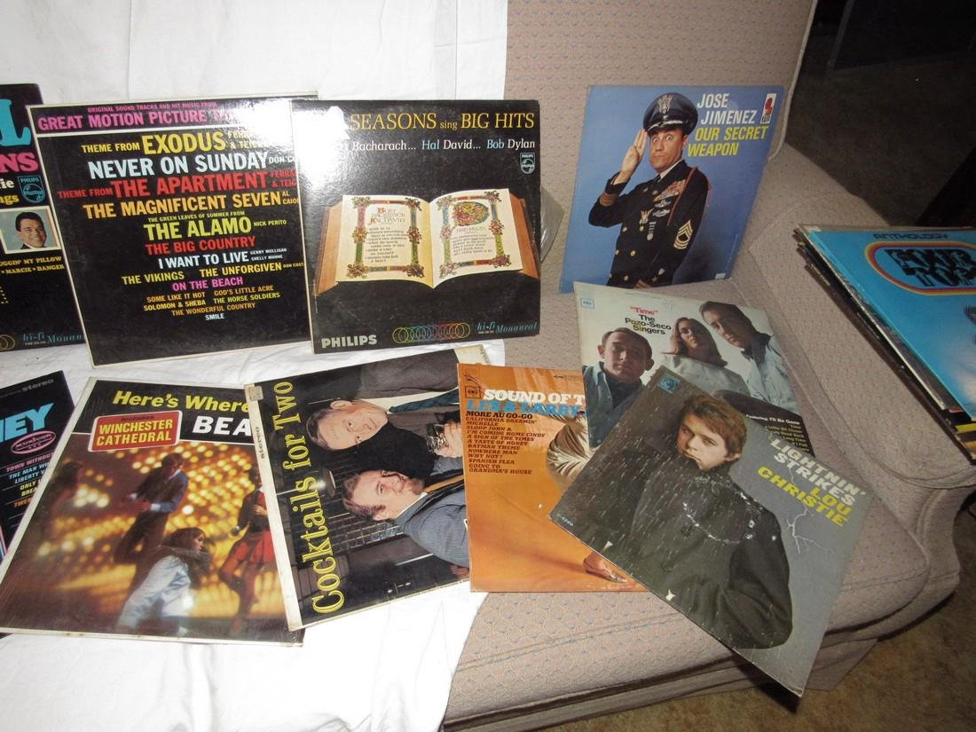 Lot of Records Including Beatles Love Songs - 3