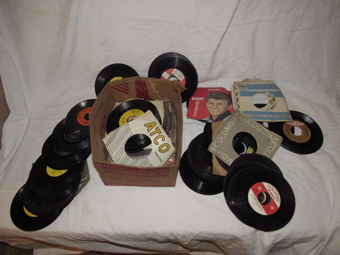 Lot of 45 Records - 2