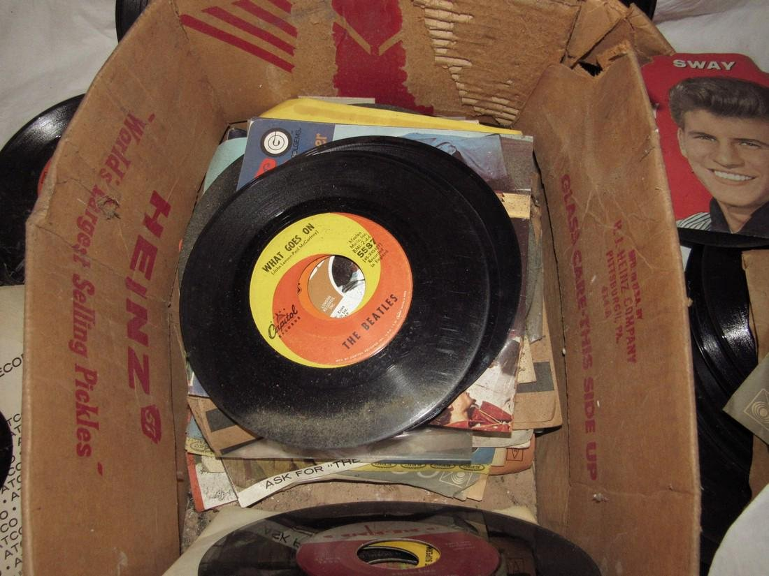 Lot of 45 Records - 3