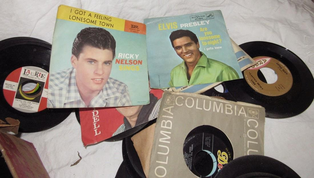 Lot of 45 Records - 8